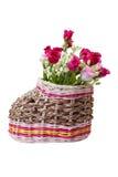 Τα παπούτσια και αυξήθηκαν λουλούδι Στοκ φωτογραφία με δικαίωμα ελεύθερης χρήσης