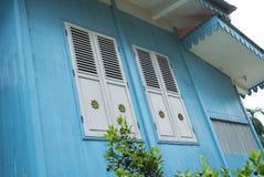 Τα παράθυρα του σπιτιού παράδοσης και πολιτισμού της Ινδονησίας Στοκ εικόνες με δικαίωμα ελεύθερης χρήσης
