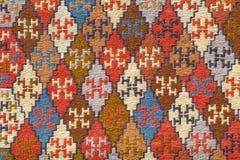 Τα παραδοσιακά σχέδια στην της Γεωργίας κουβέρτα Στοκ Φωτογραφίες