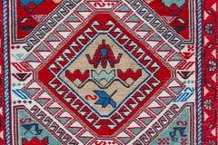 Τα παραδοσιακά σχέδια στην της Γεωργίας κουβέρτα Στοκ Εικόνα