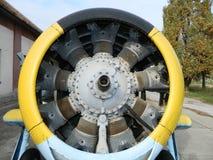 Τα παλαιά αεροσκάφη μηχανών στοκ φωτογραφίες