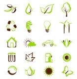 τα περιβαλλοντικά εικο διανυσματική απεικόνιση