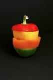 τα πιπέρια χρώματος κουδ&omicr Στοκ φωτογραφία με δικαίωμα ελεύθερης χρήσης