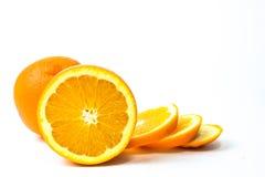 Τα πορτοκαλιά φρούτα Στοκ φωτογραφίες με δικαίωμα ελεύθερης χρήσης