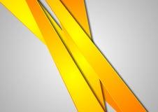 Τα πορτοκαλιά λωρίδες αφαιρούν το εταιρικό υπόβαθρο Στοκ φωτογραφίες με δικαίωμα ελεύθερης χρήσης