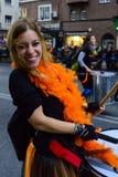 Τα πορτρέτα από το μεγάλο καρναβάλι παρελαύνουν το 2016 στη Μαδρίτη, Ισπανία Στοκ Εικόνα