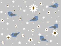 Τα πουλιά την άνοιξη Στοκ Φωτογραφίες