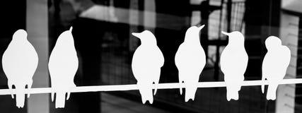 Τα πουλιά Στοκ εικόνα με δικαίωμα ελεύθερης χρήσης