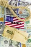 Τα προβλήματα στη αμερικανική οικονομία Στοκ εικόνες με δικαίωμα ελεύθερης χρήσης