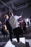 Τα πρότυπα θέτουν κατά τη διάρκεια του θανάτου στην παρουσίαση αντισφαίρισης Στοκ Εικόνες