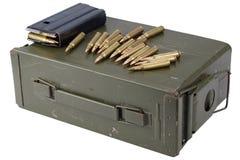 Τα πυρομαχικά μπορούν με τα πυρομαχικά στοκ φωτογραφίες με δικαίωμα ελεύθερης χρήσης