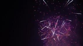Τα πυροτεχνήματα επιδεικνύουν το μεγάλο φινάλε απόθεμα βίντεο