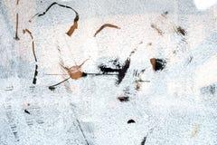 Τα σημάδια γρατσουνιών ασπρίζουν επάνω το γυαλί Στοκ Φωτογραφίες