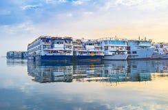 Τα σκάφη Στοκ φωτογραφία με δικαίωμα ελεύθερης χρήσης