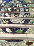 Τα σκαλοπάτια οδών Moraga κεραμώνω-μωσαϊκών, Σαν Φρανσίσκο, 12 στοκ φωτογραφία με δικαίωμα ελεύθερης χρήσης