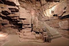 Τα σκαλοπάτια πετρών στοκ φωτογραφία