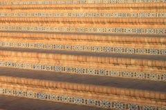 Τα σκαλοπάτια της θέσης της Ισπανίας στη Σεβίλη Στοκ Φωτογραφία