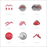 Σπίτι λογότυπων Στοκ φωτογραφίες με δικαίωμα ελεύθερης χρήσης