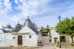 Τα σπίτια Trulli Alberobello σε Apulia στην Ιταλία Στοκ εικόνες με δικαίωμα ελεύθερης χρήσης