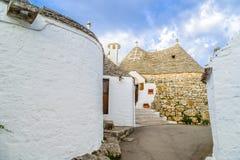 Τα σπίτια Trulli Alberobello σε Apulia στην Ιταλία Στοκ Εικόνες