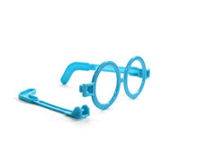 Τα σπασμένα γυαλιά Στοκ Εικόνα