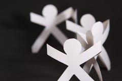 τα συνδεδεμένα χέρια απο&ka Στοκ Φωτογραφία