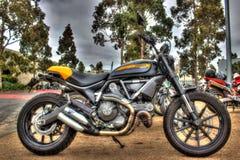 Τα σύγχρονα ιταλικά έκαναν τη μοτοσικλέτα Ducati Στοκ Φωτογραφίες