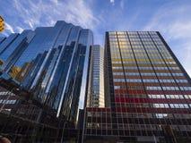 Τα σύγχρονα κτίρια γραφείων στη στο κέντρο της πόλης περιοχή Πόλεων της Οκλαχόμα - ΠΌΛΗ ΤΗΣ ΟΚΛΑΧΌΜΑ - ΟΚΛΑΧΟΜΑ - 18 Οκτωβρίου 20 Στοκ Εικόνες