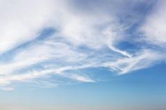 Τα σύννεφα στον ουρανό Στοκ φωτογραφία με δικαίωμα ελεύθερης χρήσης