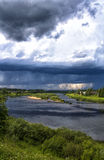Τα σύννεφα στοκ φωτογραφίες