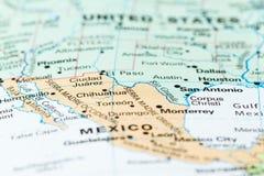 Τα σύνορα του Μεξικού ΗΠΑ Στοκ εικόνα με δικαίωμα ελεύθερης χρήσης