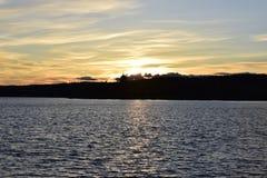 Τα σύνολα ήλιων Στοκ εικόνες με δικαίωμα ελεύθερης χρήσης