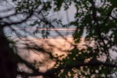 Τα σύνολα ήλιων Στοκ φωτογραφία με δικαίωμα ελεύθερης χρήσης