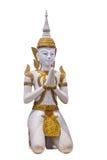 Τα ταϊλανδικά βουδιστικά αγάλματα Στοκ Εικόνες