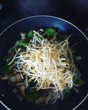 τα τηγανητά υγιή ανακατώνο&u Στοκ Εικόνες