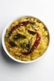 Τα τηγανητά Daal είναι το πιάτο λιχουδιών από τη βόρεια Ινδία Στοκ Φωτογραφία