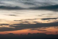 Τα της όξινης απορροής βουνά στη βόρεια Καρολίνα κατά τη διάρκεια της πτώσης Στοκ Εικόνα