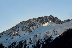 Τα τοπία βουνών στοκ εικόνα