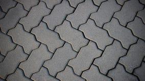 Τα τούβλα στο έδαφος Στοκ Εικόνα