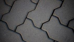 Τα τούβλα στο έδαφος Στοκ Εικόνες
