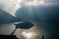 Τα τρία φαράγγια του ποταμού Yangtze Στοκ Φωτογραφία