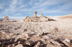 Τα τρία Marys - έρημος Atacama - Χιλή Στοκ Φωτογραφίες