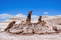 Τα τρία Marys Valle de Λα Luna Στοκ Εικόνες