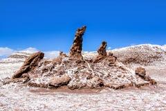 Τα τρία Marys Valle de Λα Luna Στοκ φωτογραφίες με δικαίωμα ελεύθερης χρήσης