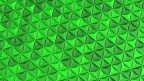 Τα τρίγωνα διαμόρφωσαν ένα κύμα φιλμ μικρού μήκους