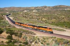 Τα τραίνα είναι μεταφορά πετρελαίου diesel Στοκ Φωτογραφίες