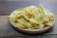 Τα τριζάτα τσιπ Durian τηγάνισαν durian Στοκ Εικόνες