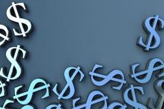 τα τρισδιάστατα χρήματα δίν& ελεύθερη απεικόνιση δικαιώματος