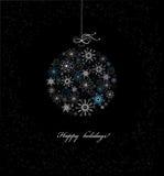 τα τρισδιάστατα Χριστούγεννα μπιχλιμπιδιών ανασκόπησης σύνθεσαν φωτογραφικό πραγματικό δίνουν Στοκ Εικόνες