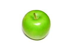 τα τρόφιμα ανασκόπησης μήλων απομόνωσαν το λευκό χρήσης υλικών Στοκ Φωτογραφία